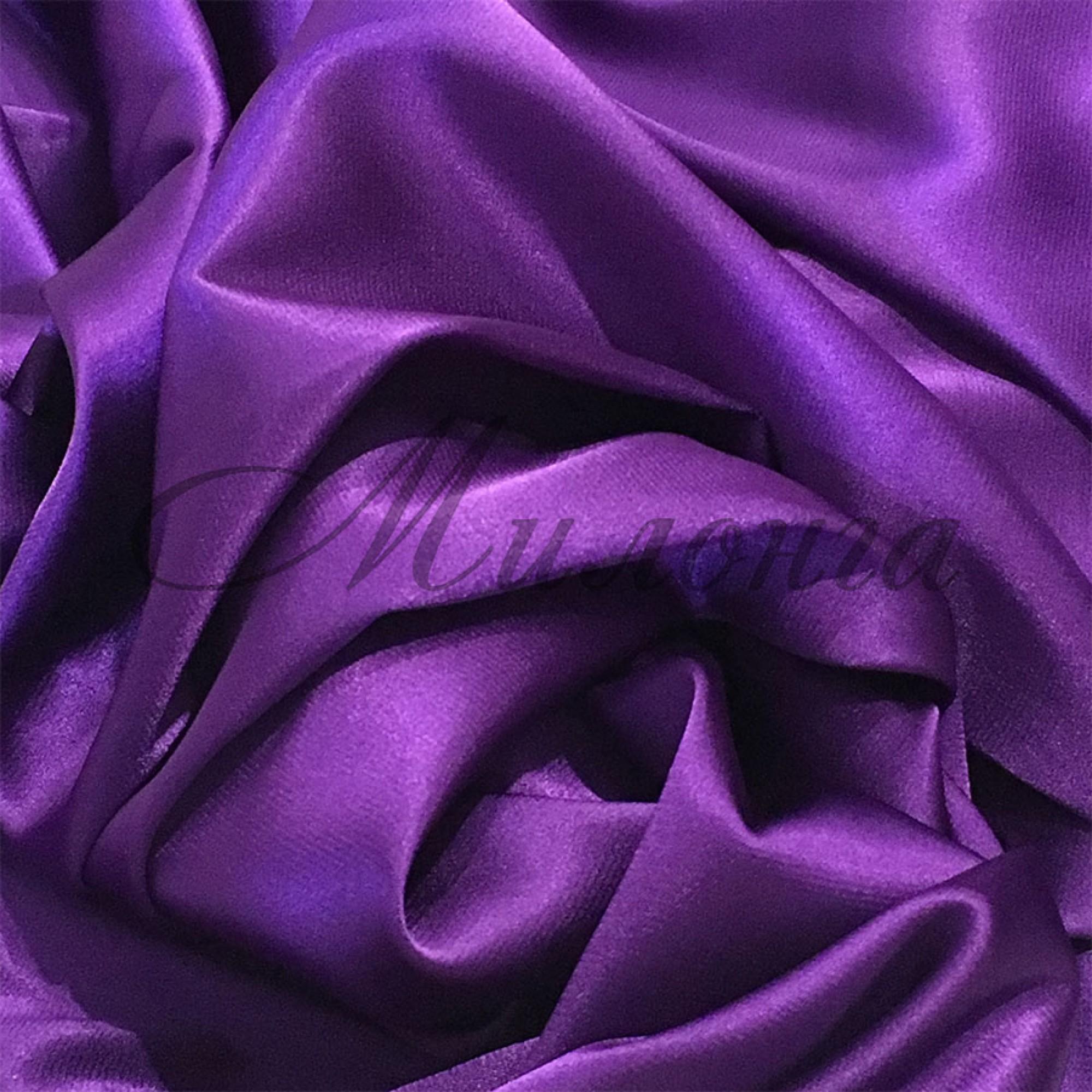 Стрейч сатин (Атлас) DSI Purple