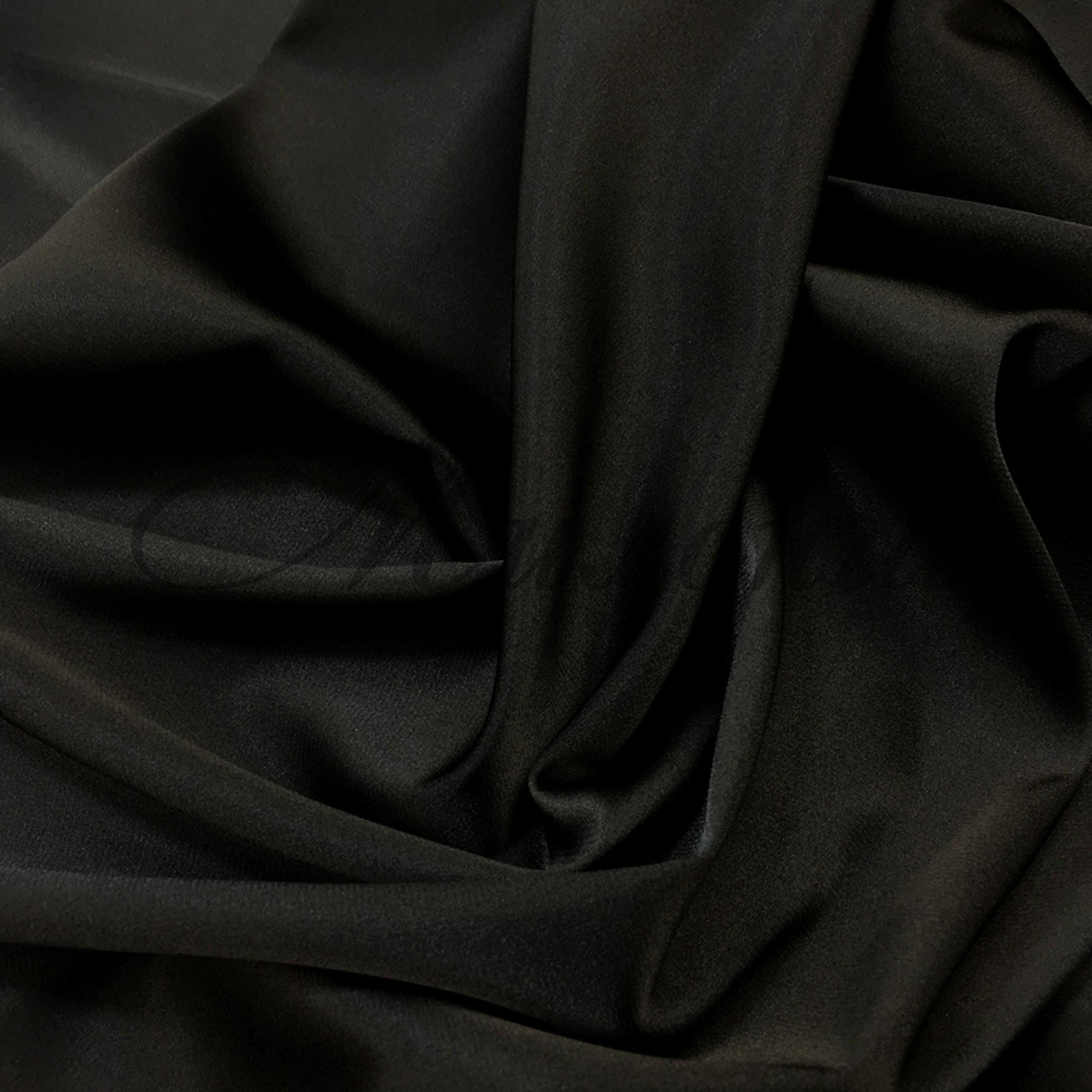 Стрейч сатин (Атлас) DSI Black