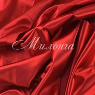 Вельвет сатин Италия Red