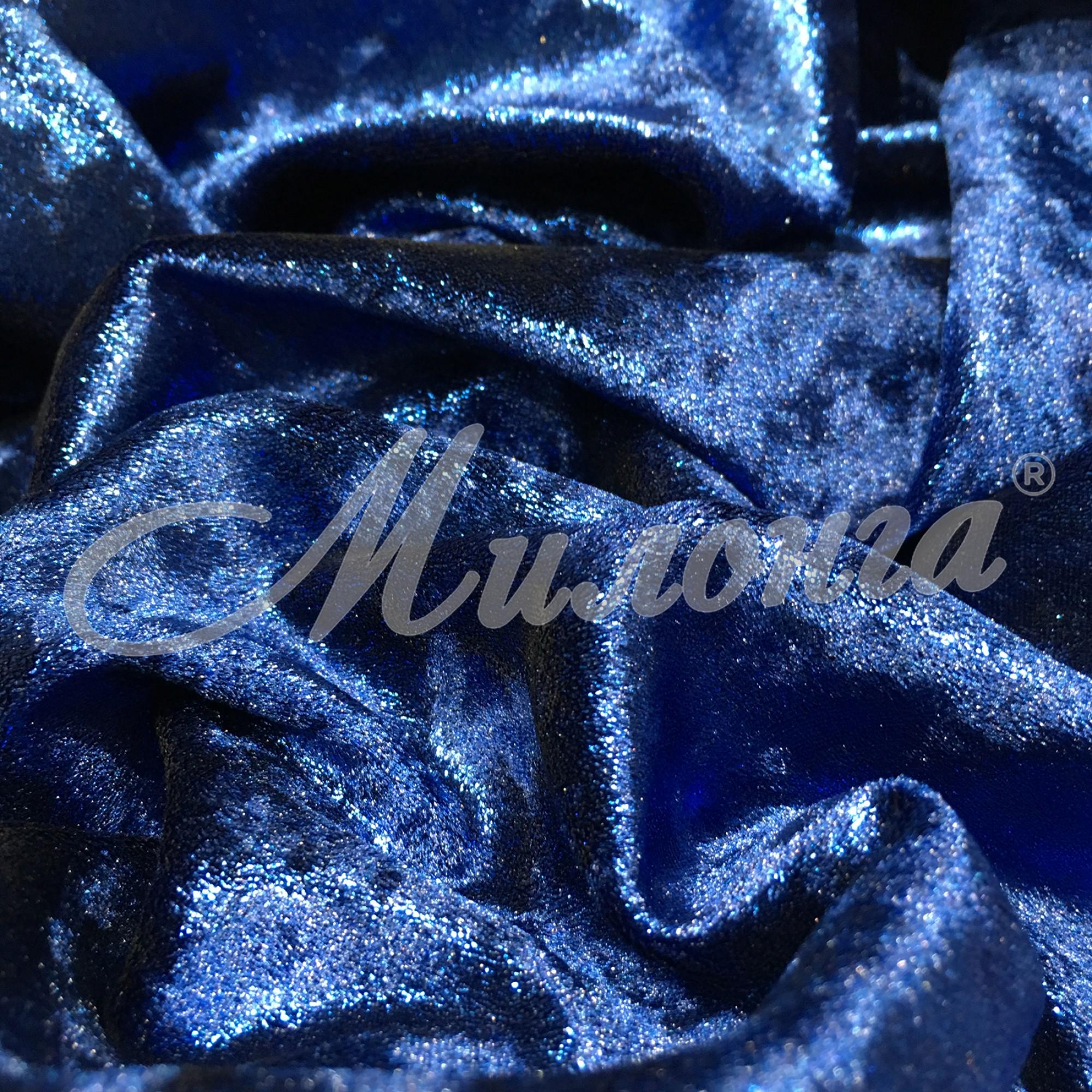 Вельвет Shimmer Chrisanne BlueonDarkBlue
